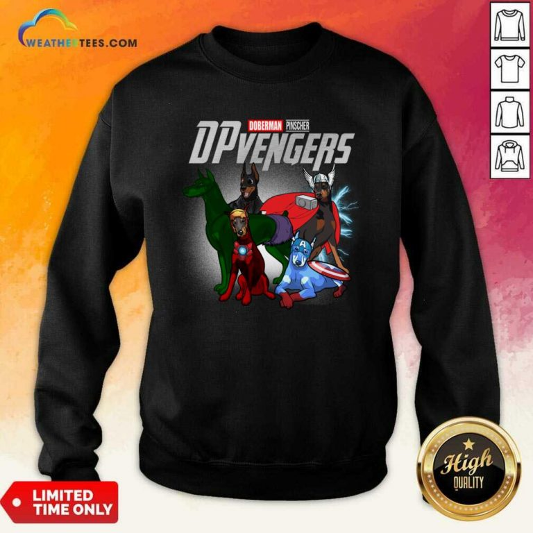 Dobeman Pincher Marvel Avengers DPvengers Sweatshirt - Design By Weathertees.com