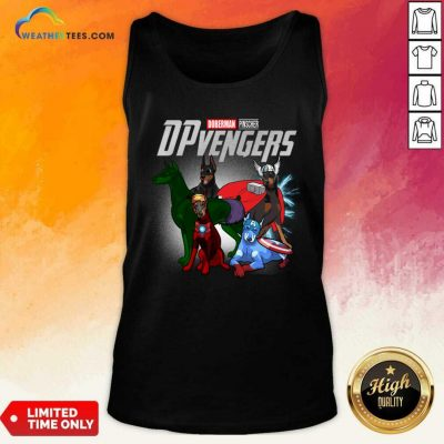 Dobeman Pincher Marvel Avengers DPvengers Tank Top - Design By Weathertees.com