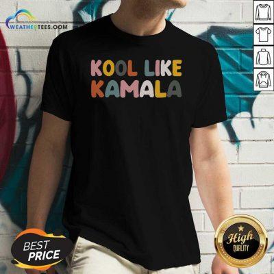 Kool Like Kamala 2021 V-neck - Design By Weathertees.com