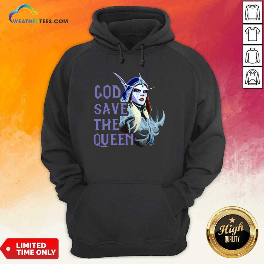 World Of Warcraft God Save The Queen 2021 Hoodie - Design By Weathertees.com