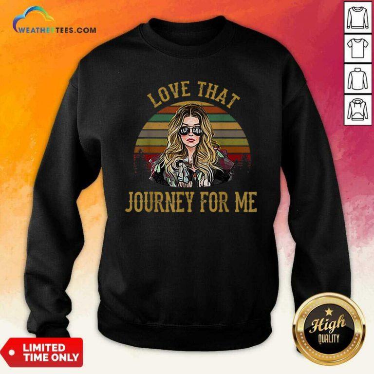 Alexis Rose Love That Journey For Me Vintage Sweatshirt - Design By Weathertees.com