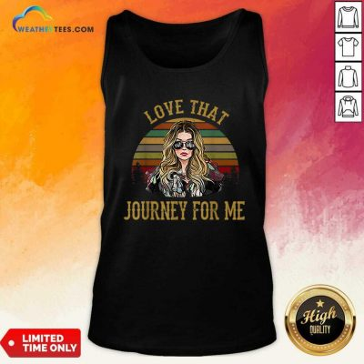 Alexis Rose Love That Journey For Me Vintage Tank Top - Design By Weathertees.com