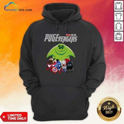 Pug Dog Marvel Avengers Pugevengers Hoodie - Design By Weathertees.com