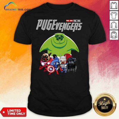 Pug Dog Marvel Avengers Pugevengers Shirt - Design By Weathertees.com