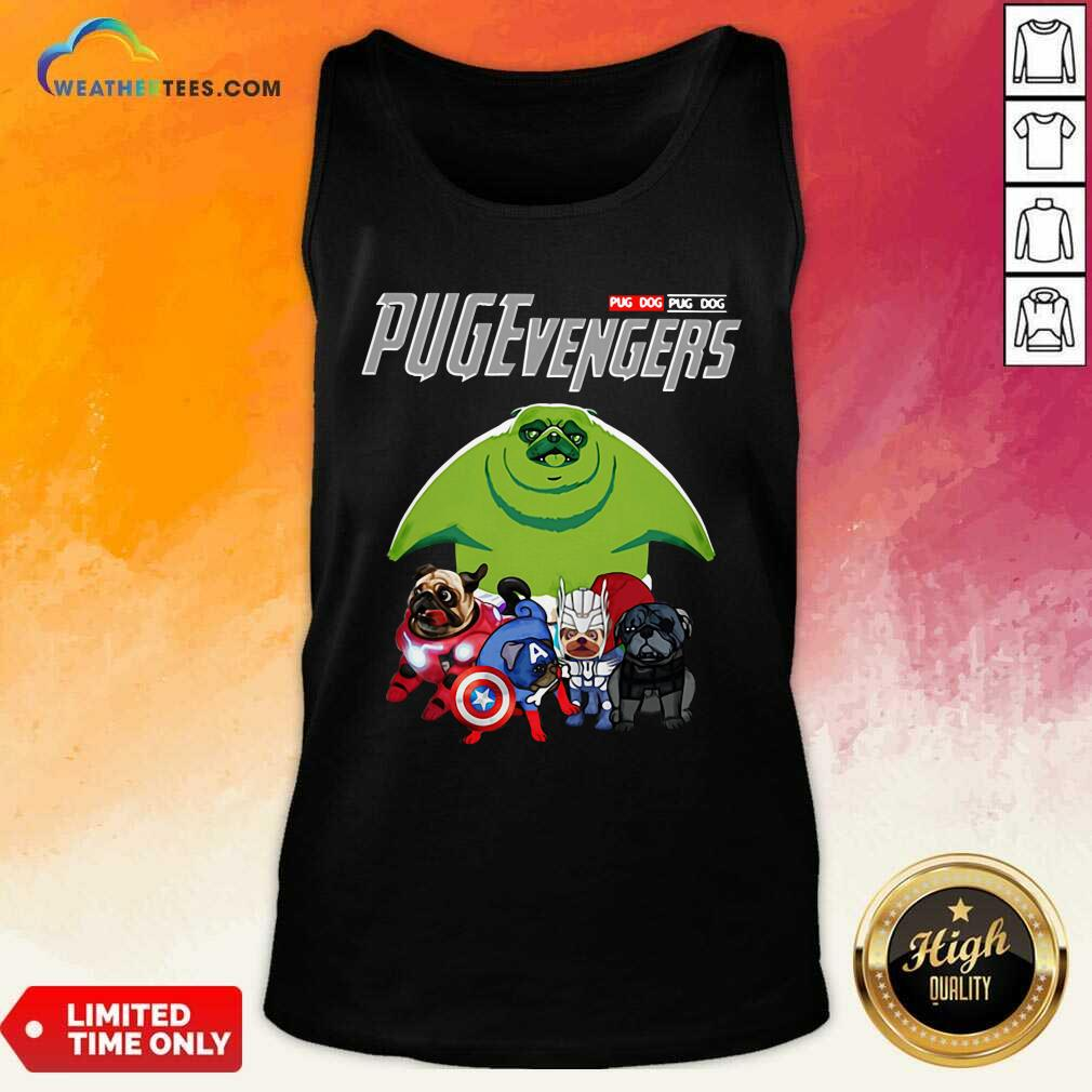 Pug Dog Marvel Avengers Pugevengers Tank Top - Design By Weathertees.com