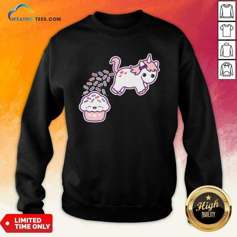 Sprinkle Poo Sweatshirt - Design By Weathertees.com