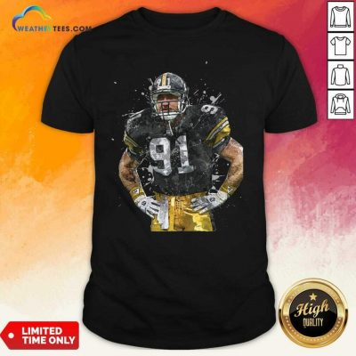 Pittsburgh Steelers Football Player 91 Nfl Playoffs Shirt - Design By Weathertees.com