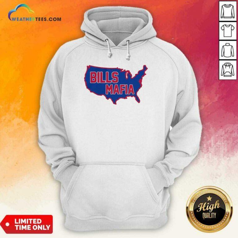 American Flag Buffalo Bills Mafia 2021 Hoodie - Design By Weathertees.com
