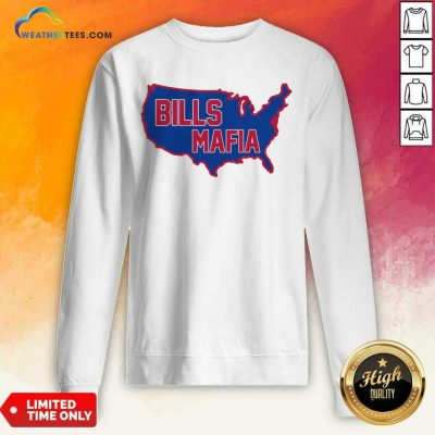 American Flag Buffalo Bills Mafia 2021 Sweatshirt - Design By Weathertees.com