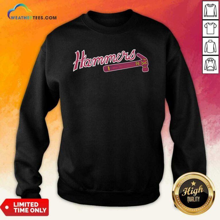 Atlanta Hammers Sweatshirt - Design By Weathertees.com