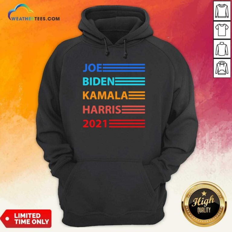 Biden Harris 2021 Joe Biden Kamala Harris Hoodie - Design By Weathertees.com