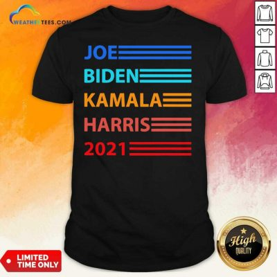 Biden Harris 2021 Joe Biden Kamala Harris Shirt - Design By Weathertees.com