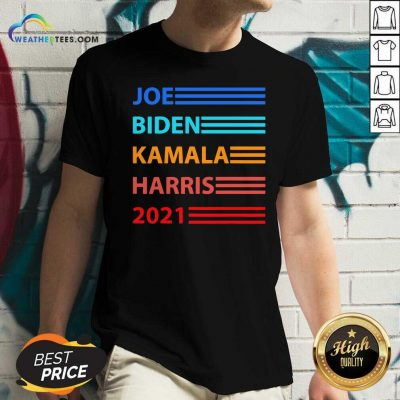 Biden Harris 2021 Joe Biden Kamala Harris V-neck - Design By Weathertees.com