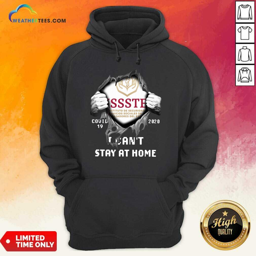 Issste Inside Me Covid-19 2020 I Can't Stay At Home Hoodie - Design By Weathertees.com