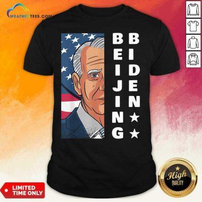 Joe Biden Is Not President American Flag Shirt - Design By Weathertees.com
