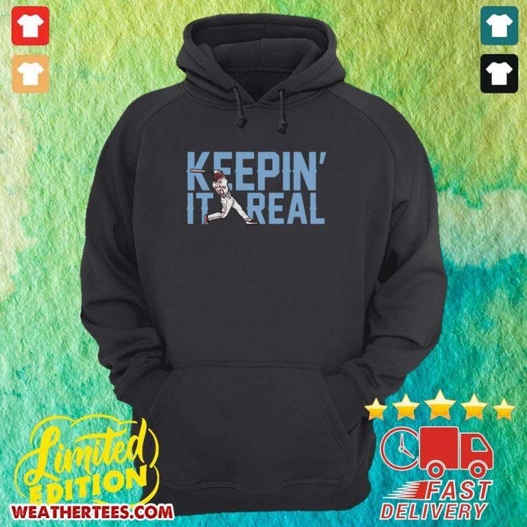 Keepin It Real Hoodie - Design By Weathertees.com