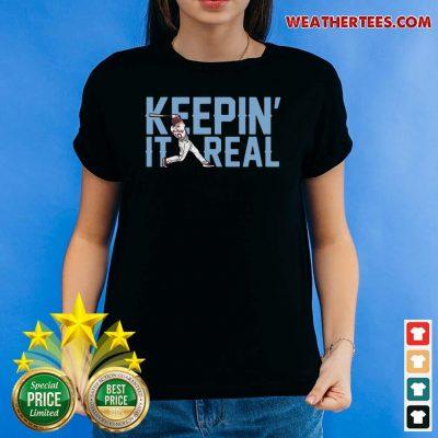 Keepin It Real Ladies-tee - Design By Weathertees.com