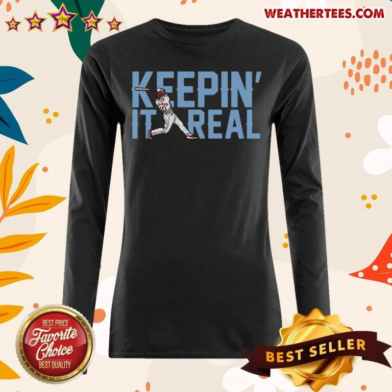 Keepin It Real Long-sleeved - Design By Weathertees.com