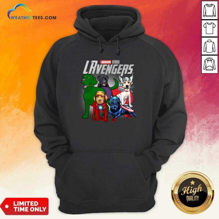 Labrador Retriever Marvel Avengers LRvengers Hoodie - Design By Weathertees.com