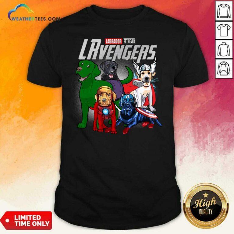 Labrador Retriever Marvel Avengers LRvengers Shirt - Design By Weathertees.com