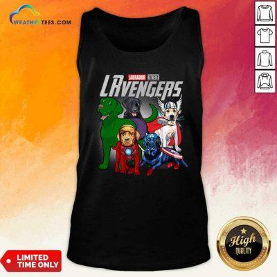 Labrador Retriever Marvel Avengers LRvengers Tank Top - Design By Weathertees.com