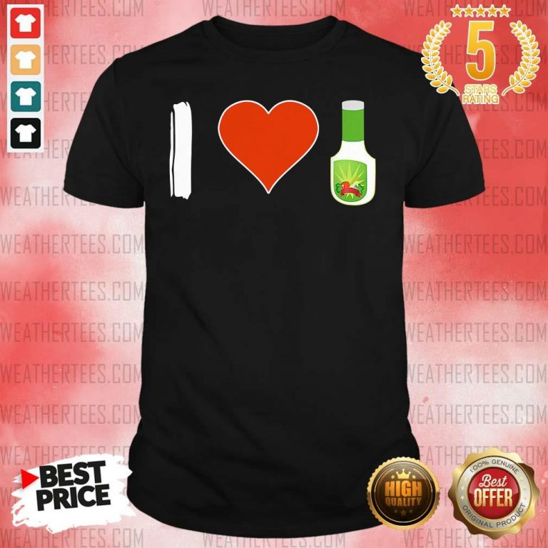 Amused I Love 1 Vegetarian Shirt - Design by Weathertee.com