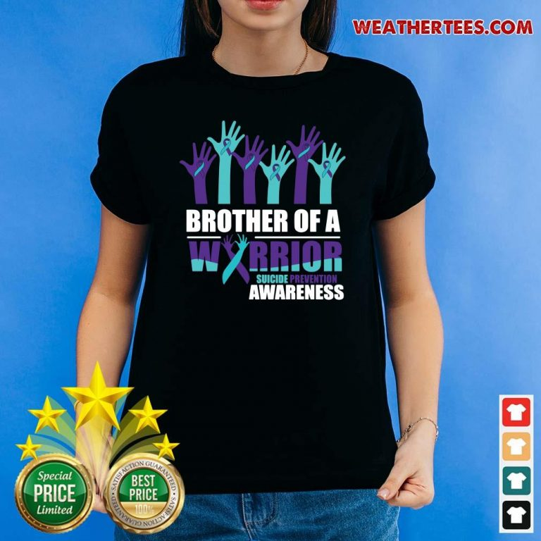 Angry 9 Warrior Suicide Awareness Ladies-tee - Design by Weathertee.com