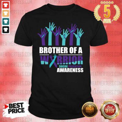 Angry 9 Warrior Suicide Awareness Shirt - Design by Weathertee.com