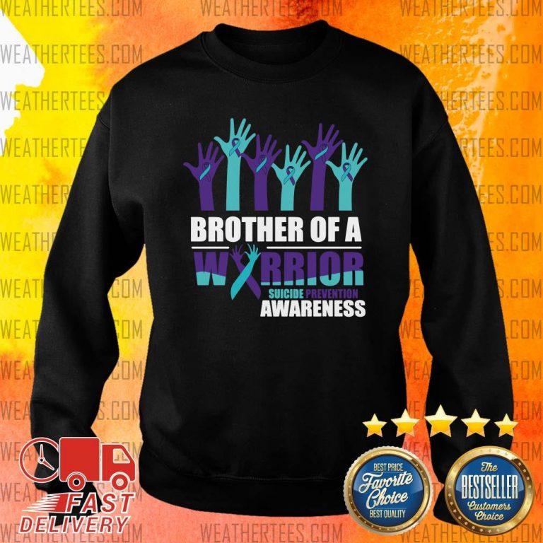 Angry 9 Warrior Suicide Awareness Sweater - Design by Weathertee.com