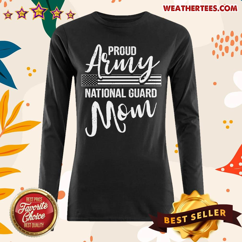 Awesome Military Mom Army Gifts 19 Long-sleeved - Design by Weathertee.com