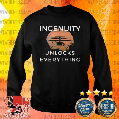 Cool 11 Ingenuity Unlocks Everything Sweater - Design by Weathertee.com