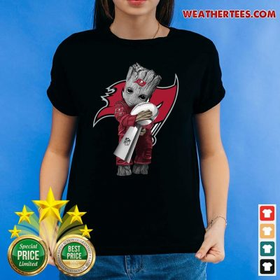 Cute 4 NFL Cup Tampa Bay Ladies-tee - Design by Weathertee.com