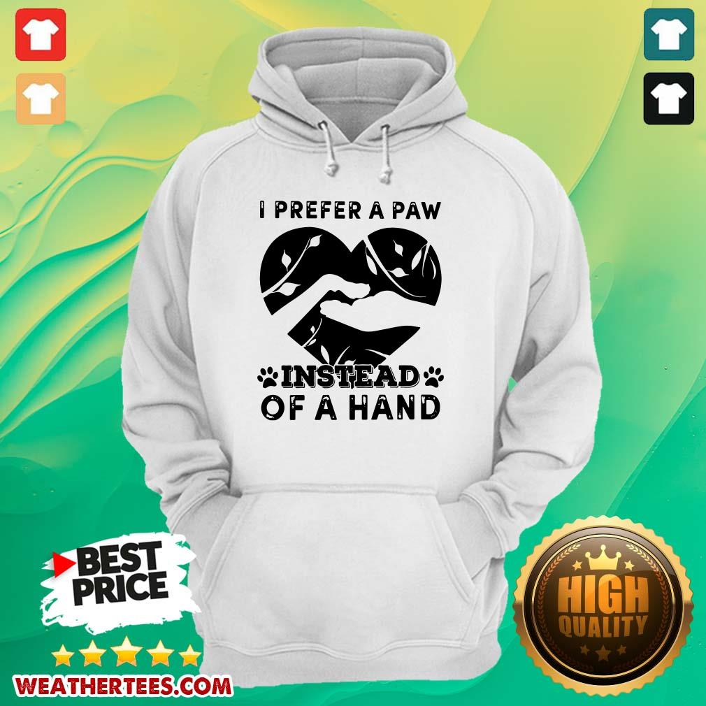 Cute 9 Paw Of A Hand Hoodie - Design by Weathertee.com
