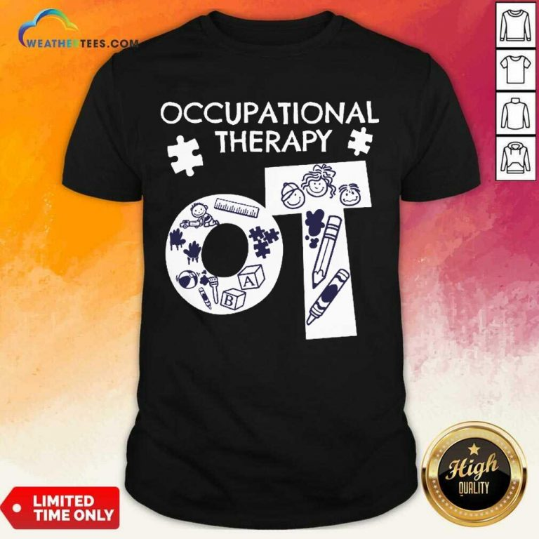 Enthusiastic Occupational Therapy 5 Shirt