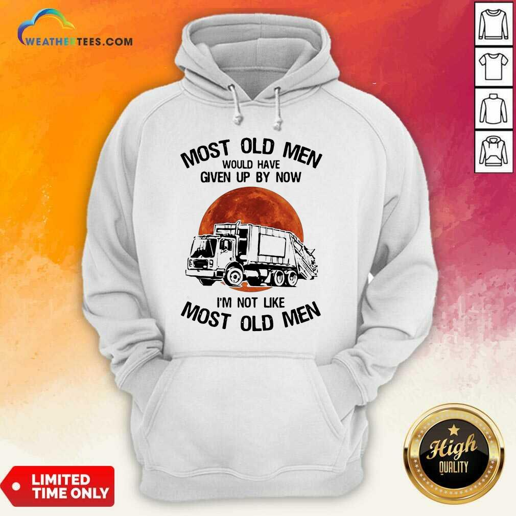 Enthusiastic Old Men Waste Collector Moon 3 Hoodie