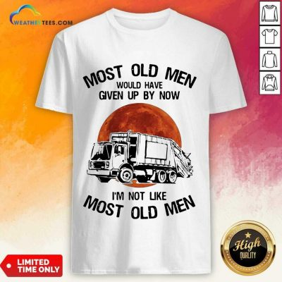 Enthusiastic Old Men Waste Collector Moon 3 Shirt