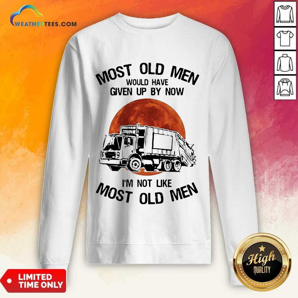 Enthusiastic Old Men Waste Collector Moon 3 Sweatshirt
