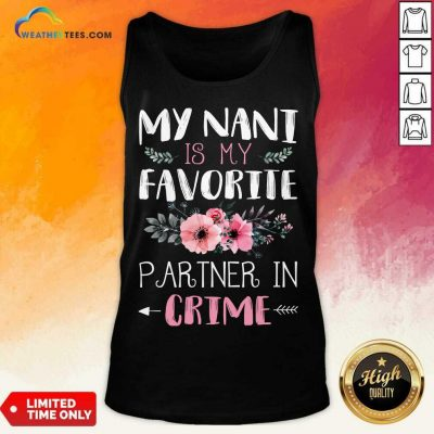 Excited My Nani Is My Favorite 456 Tank Top
