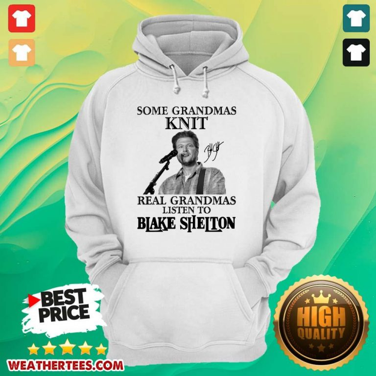 Great 1 Listen To Blake Shelton Hoodie - Design by Weathertee.com