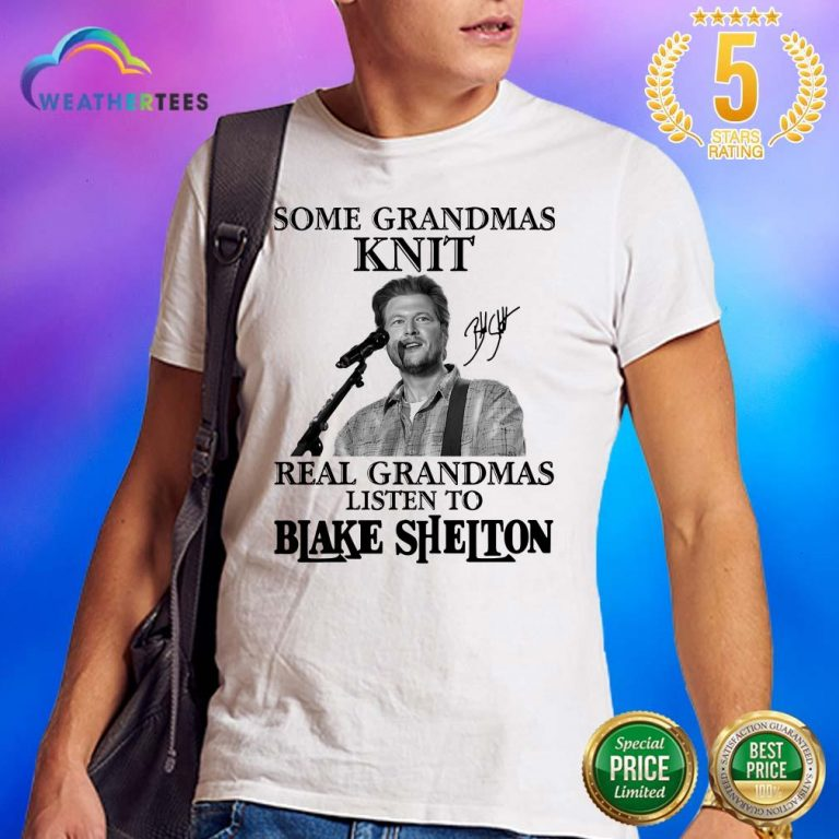 Great 1 Listen To Blake Shelton Shirt - Design by Weathertee.com