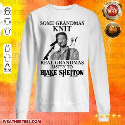 Great 1 Listen To Blake Shelton Sweater - Design by Weathertee.com