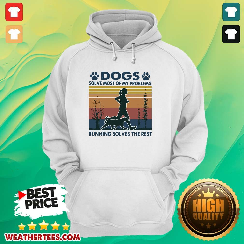 Great Dogs Solve Problems 3 Hoodie - Design by Weathertee.com