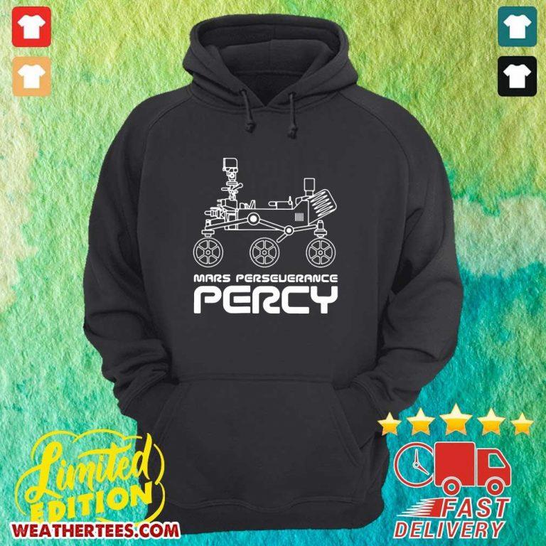 Happy Mars Perseverance 6 Nasa Hoodie - Design by Weathertee.com