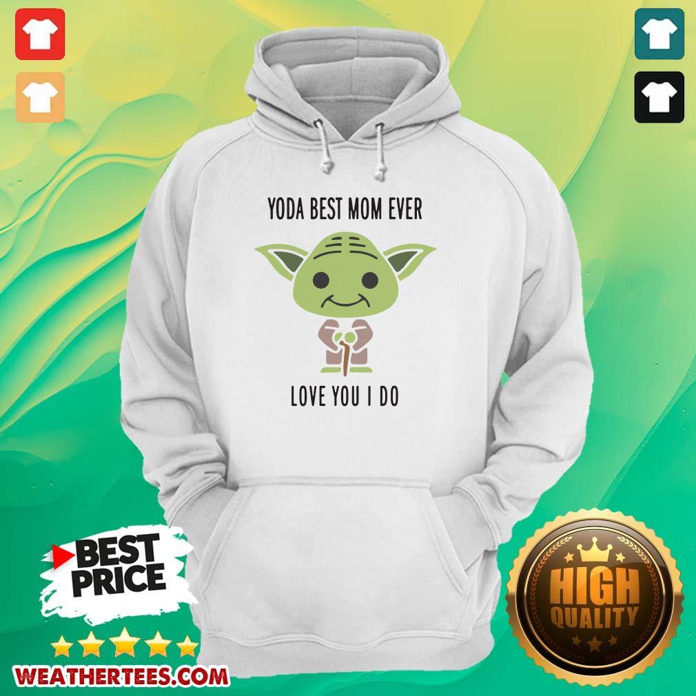 Hot 6 Baby Yoda Best Mom Hoodie - Design by Weathertee.com