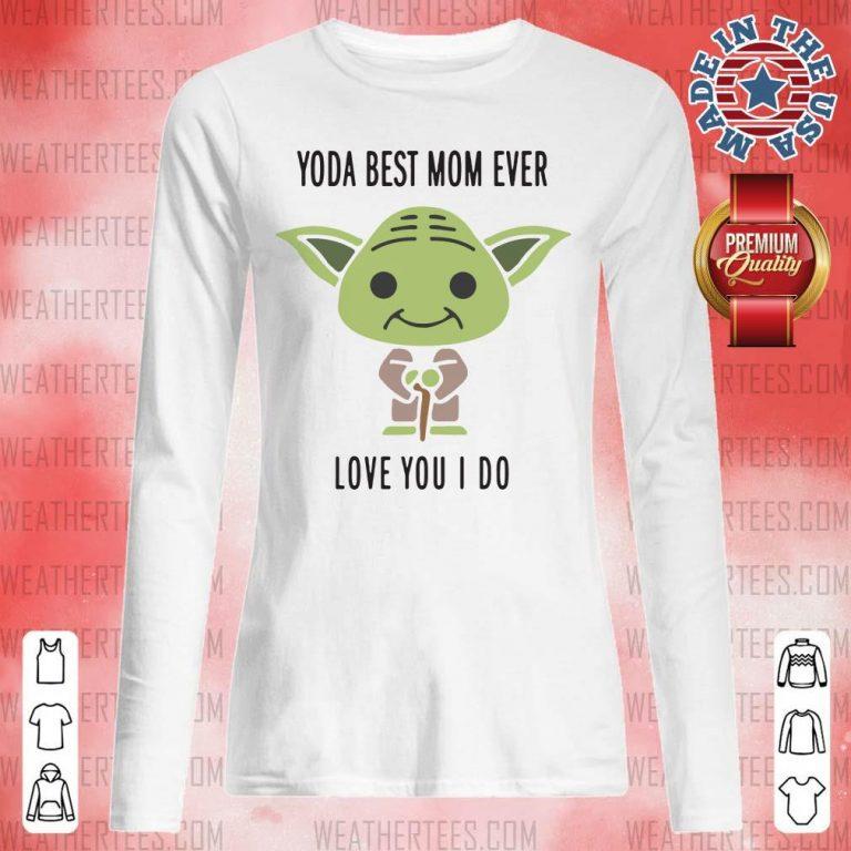 Hot 6 Baby Yoda Best Mom Long-sleveed - Design by Weathertee.com