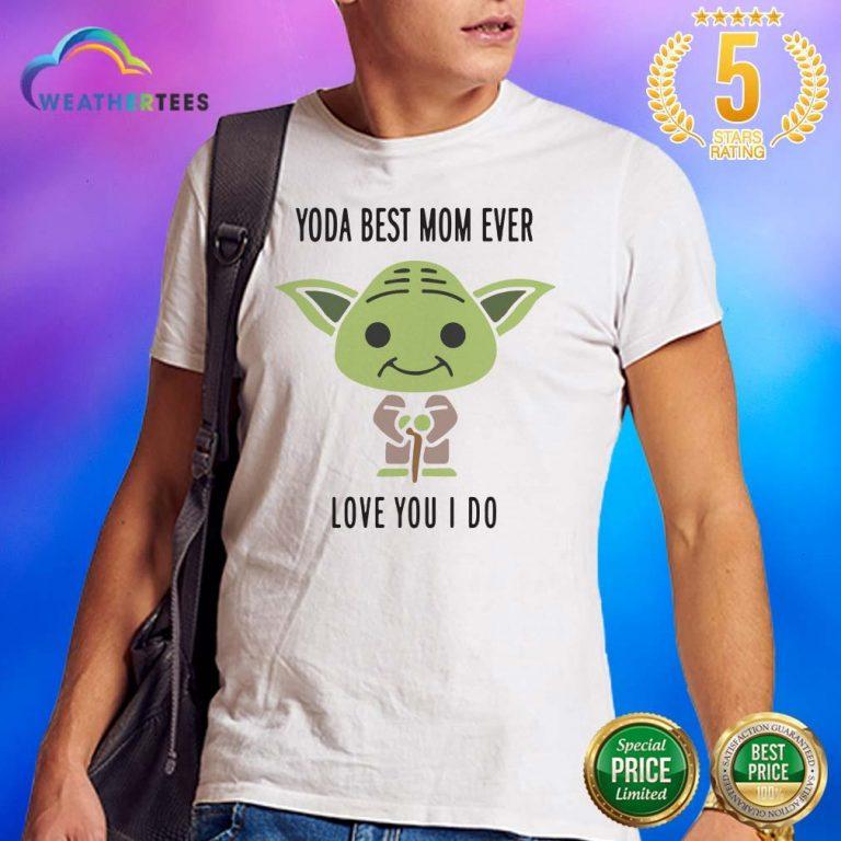 Hot 6 Baby Yoda Best Mom Shirt - Design by Weathertee.com