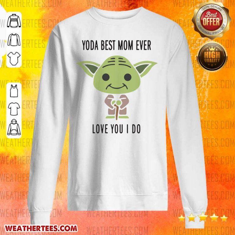 Hot 6 Baby Yoda Best Mom Sweater - Design by Weathertee.com