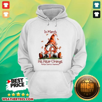 Hot March We Wear Orange 16 Hoodie - Design by Weathertee.com