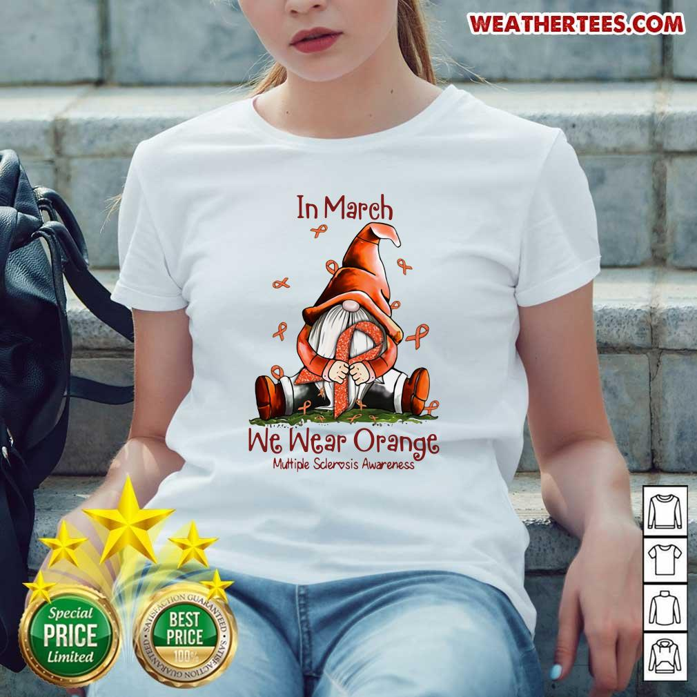 Hot March We Wear Orange 16 Ladies-tee - Design by Weathertee.com