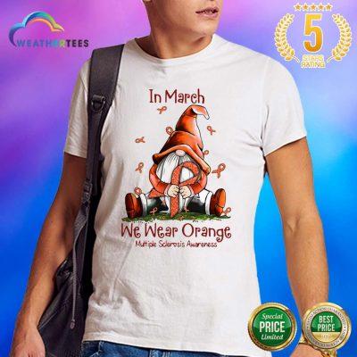 Hot March We Wear Orange 16 Shirt - Design by Weathertee.com
